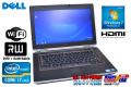 14.0�� ��ťΡ��ȥѥ����� DELL Latitude E6420 (2����/4����å�)Core i7 2640M(2.80GHz) ����4G HDD320G DVD�ޥ�� ̵��LAN Windows7