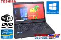 ��ǥΡ��ȥѥ����� Windows10 64bit dynabook Satellite B551/D Core i3-2330M(2.20GHz)  ����2G HDD250GB DVD �����15.6�����