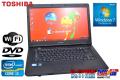 ��ǥΡ��ȥѥ����� Windows 7 64bit dynabook Satellite B551/D Core i3-2330M(2.20GHz)  ����4G HDD250GB DVD �����15.6�����