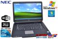 WindowsXP ��ťΡ��ȥѥ����� NEC VersaPro VY24G/X-A Corei5 520M(2.4GHz) ����2G HDD160G DVD�ޥ�� WindowsXP/7���ꥫ�Х���