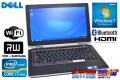 13.3�� ��Х���Ρ��ȥѥ����� DELL Latitude E6320 Core i7 2640M 2.80GHz ����4G DVD�ޥ�� Windows7 Bluetooth e-legacy extender��°