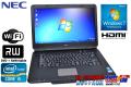 ��ťΡ��ȥѥ����� NEC VersaPro VJ24T/L-D Corei5 2430M(2.4GHz) ����2G HDD250G �ޥ�� ̵��LAN Windows7 15.6���磻��