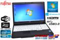 �ٻ��� ��ťΡ��ȥѥ����� LIFEBOOK A572/FX Core i5 3320M(2.60GHz) ����4G 15.6���磻�� �ޥ�� ̵��LAN USB3.0 Windows7 Win8�ꥫ�Х���
