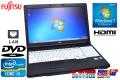15.6��HD ��ťΡ��ȥѥ����� �ٻ��� LIFEBOOK A561/C Core i3 2310M(2.10GHz) ����4G DVD-ROM Windows7 64bit