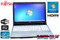 15.6���磻�� ��ťΡ��ȥѥ����� �ٻ��� LIFEBOOK E741/D Core i7 2640M(2.80GHz) ����4G DVD�ޥ�� ̵��LAN Windows7 64bit