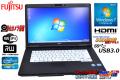 SSD��� 15.6��HD+ ��ťΡ��ȥѥ����� �ٻ��� LIFEBOOK A572/F Core i3 3110M(2.40GHz)  ����4G �ޥ�� ̵�� USB3.0 Web����� Windows7 64bit