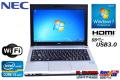 ��� ��Х��� �Ρ��ȥѥ����� NEC VersaPro VK27M/B-G Core i5 3340M(2.70GHz) WiFi ����4G USB3.0 Windows7
