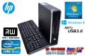 Windows7 8 �ꥫ�Х��� Ķ���� ��ťѥ����� HP Elite 8300 us Core i5 3470s ��2.90GH��� ����2G HDD320GB DVD�ޥ�� USB3.0