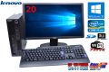 ̵���� 20���磻�ɱվ����å� Lenovo ThinkCentre M91p ECO Corei5 2400S-2.5G ����2G �ޥ�� Windows10 SD����å�