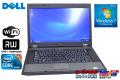 Windows7 �Ρ��ȥѥ����� DELL Latitude E5510 2����/4����å� Core i5 520M(2.40GHz) ����2G DVD�ޥ�� ̵��LAN 15.6�������