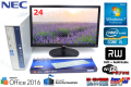 24���վ����å� KS���ե����� NEC ��ťѥ����� Mate MK25M/B-C Core i5 2400S(2.50GHz) ����4G �ޥ�� WiFi�����ץ� Windows7