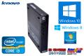 Windows10 Ķ���� ��ťѥ����� ��Υ� ThinkCentre M72e Tiny Corei3-3220T(2.8GHz) ����4G HDD320GB Windows8 64bit �ꥫ�Х���