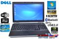 Windows7 64bit 15.6���ե�HD �Ρ��ȥѥ����� DELL Latitude E6530 Core i7-3740QM(2.70GHz) ����4G �ޥ�� WiFi USB3.0 Bluetooth NVIDIA