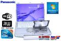�ϥ�ɥ��� 14.1�� ��Х���Ρ��ȥѥ����� Panasonic ��åĥΡ��� CF-F10 Core i5 580M(2.66GHz) ����4G HDD320G WiFi �ޥ�� Windows7 64bit