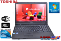 15.6���磻��HD+ �Ρ��ȥѥ����� TOSHIBA dynabook Satellite B650/B Core i7 640M(2.8GHz) ����4G HDD250G WiFi �ޥ�� Windows7 64bit