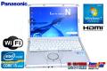 パナソニック ノートパソコン Let's note N10 Core i5 2520M(2.50GHz) メモリ4G WiFi Windows7 64bit