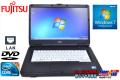 Windows7 富士通ノートパソコン LIFEBOOK A550/A Core i5 520M(2.4GHz) メモリ4G DVD-ROM 15.6型HD液晶