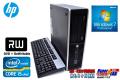 Windows7 64bit 中古パソコン HP 8200 Elite SF Core i5 2400(3.10GHz) メモリ4G HDD250GB 新品DVDマルチ