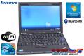 中古ノートパソコン レノボ THINKPAD X201s (5397-FUJ) Core i7 640LM(2.13GHz) メモリ2G WiFi Bluetooth Windows7 64bit