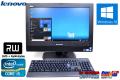 Windows10 20型液晶一体型パソコン レノボ ThinkCentreM72z 4コア Core i5-2400s (2.5GHz) メモリ4GB マルチ