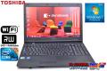 東芝 中古ノートパソコン Windows7 64bit dynabook Satellite L47 266E/HD Core i5 560M(2.66GHz) メモリ2G WiFi マルチ 15.6型ワイド