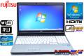 SSD搭載 中古ノートパソコン 富士通 LIFEBOOK E741/D Core i7 2640M(2.80GHz) メモリ4G マルチ WiFi Windows7 64bit