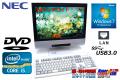 USB3.0��� 19���磻�ɱվ����η��ѥ����� NEC Mate MK25T/GF-E Core i5-3210M (2.5GHz) ����2GB HDD250G Windows7 ������