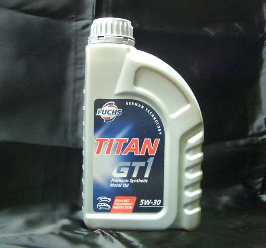 エンジンオイル FUCHS TITAN GT1 【5W-30】 1リットル
