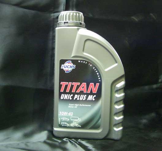 エンジンオイル FUCHS TITAN UNIMAX PLUS MC 【10W-40】 5リットル