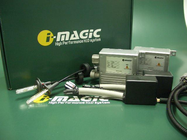 i-magic HID system 35wシングル 8000K