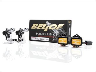 BELLOF バルブキット スパークホワイト6000K (H1/H3C/H4/H7/HB3/4/H9/11) 【AMC401/402/403/404/405/411】