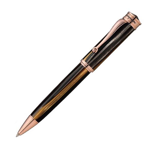 【お取り寄せ】モンテグラッパ(Montegrappa)ドゥカーレ ローズゴールド ブラウン ボールペン