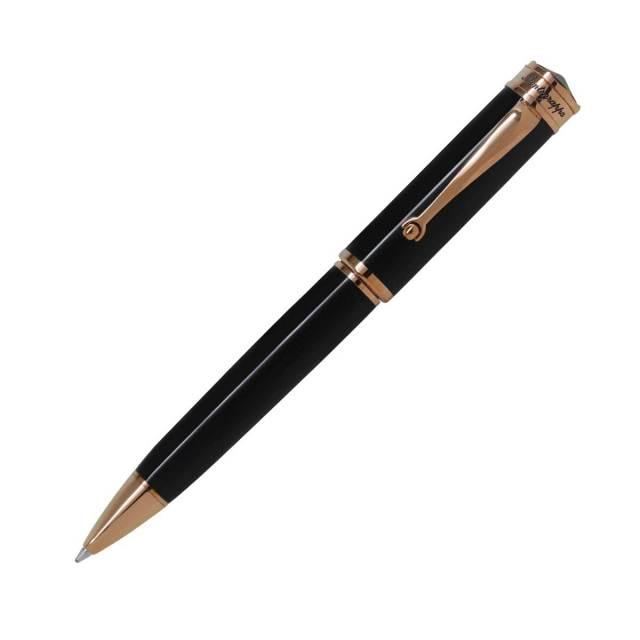 【お取り寄せ】モンテグラッパ(Montegrappa)ドゥカーレ ローズゴールド ブラック ボールペン