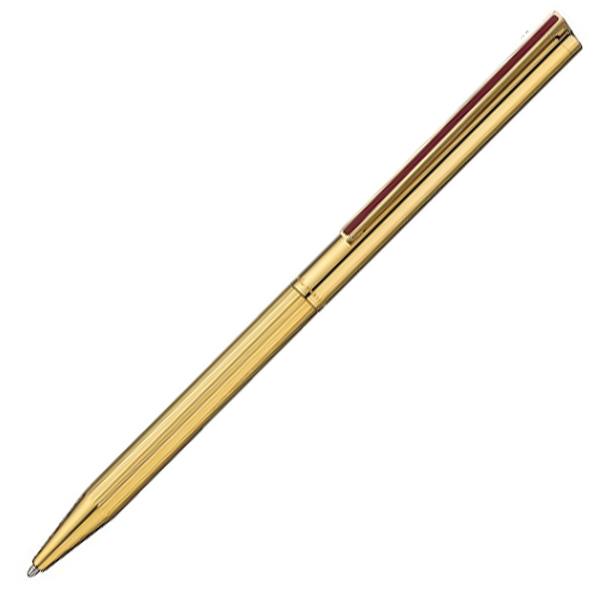 【お取り寄せ】デュポン(S.T.Dupont)CLASSIQUE チャイニーズ ラッカー 純正赤漆 & ゴールド ボールペン&ペンシル 多機能ペン 045072A
