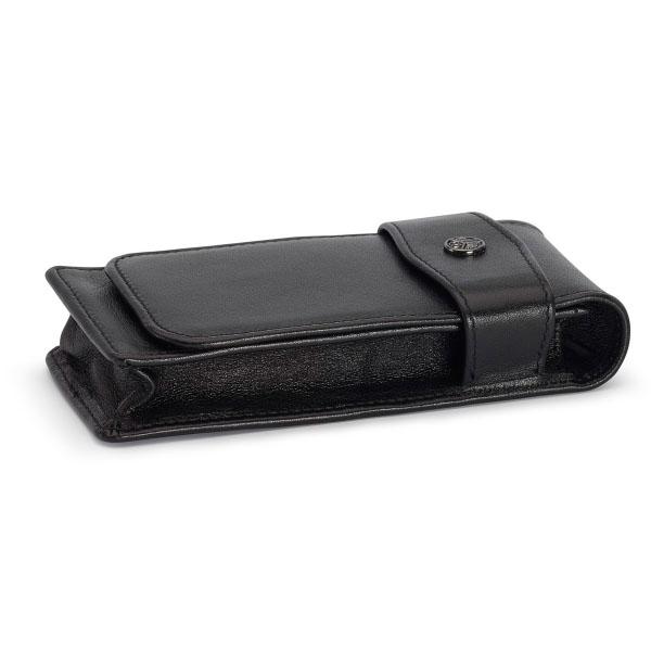 【お取り寄せ】カヴェコ(KAEWCO)ロングタイプ 3本用 革ケース 黒