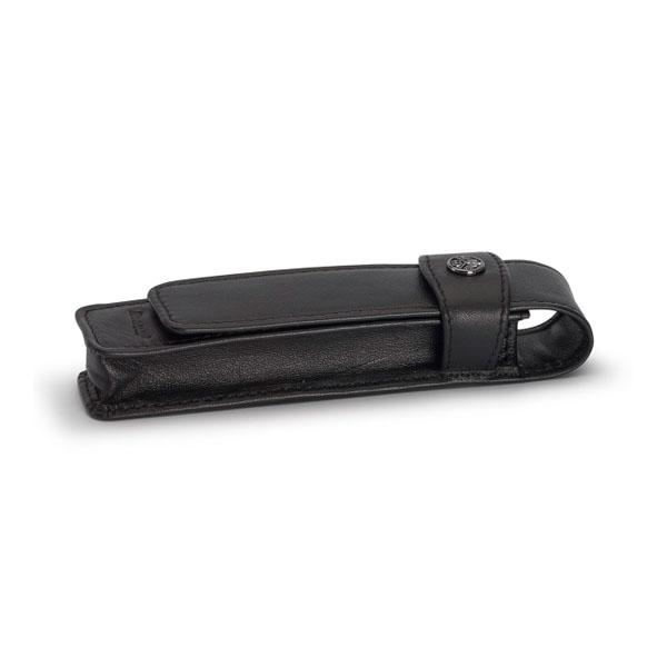 【お取り寄せ】カヴェコ(KAEWCO)ショートタイプ 1本用 革ケース 黒