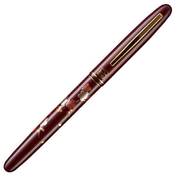 【お取り寄せ】くれ竹(Kuretake) 蒔絵物語 枝桜 赤 万年毛筆