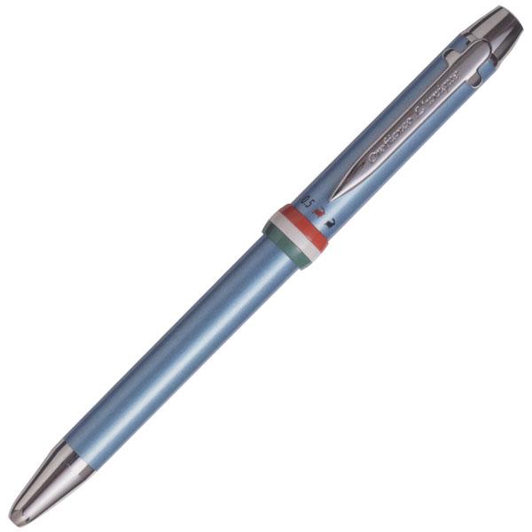 【即納可能】オロビアンコ(Orobianco)Triplo トリプロ アズーロ メタリックブルー 多機能ペン 1951026