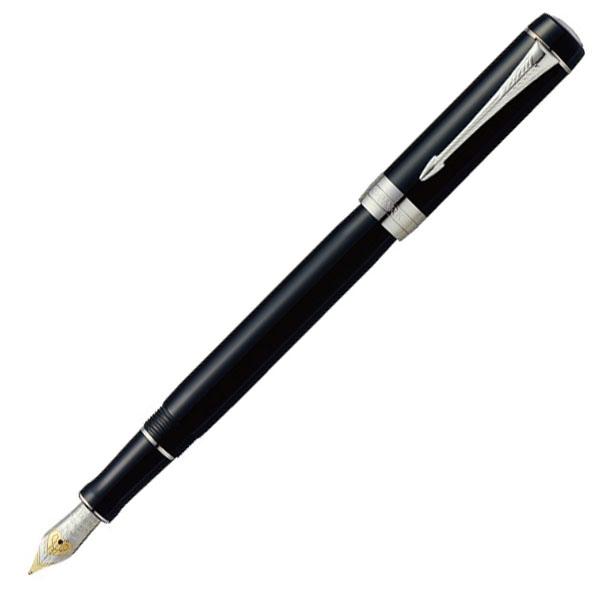 【お取り寄せ】パーカー(PARKER)デュオフォールド クラシック ブラックCT インターナショナル 万年筆
