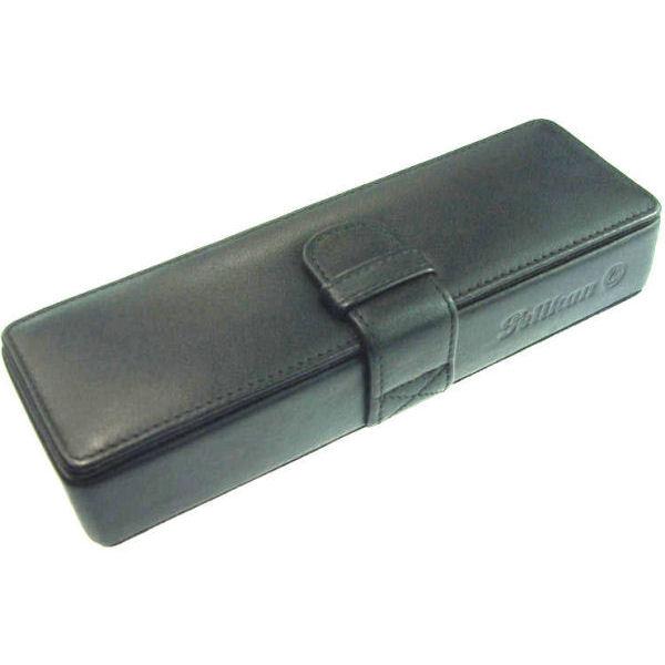 【お取り寄せ】ペリカン(Pelikan)PB-1 レザーケース ブラック 2本用