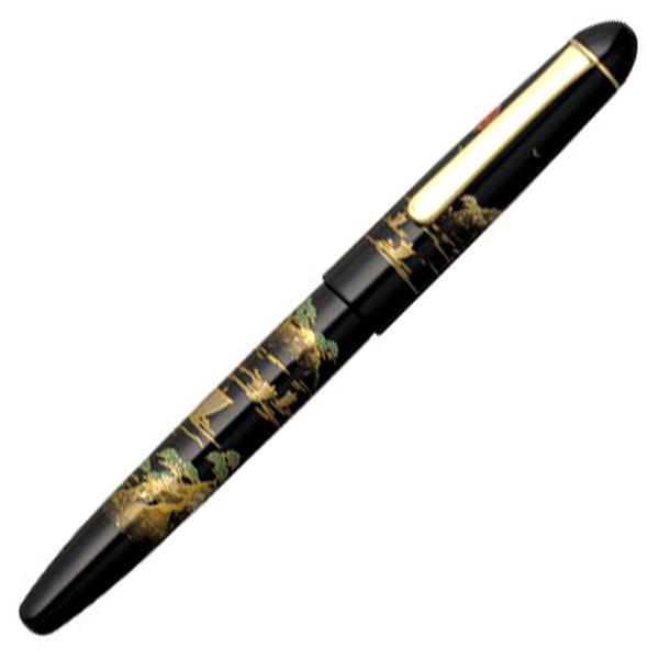 【お取り寄せ】プラチナ萬年筆(PLATINUM) #3776 加賀平蒔絵 #84 サンスイ PNB-30000B 万年筆