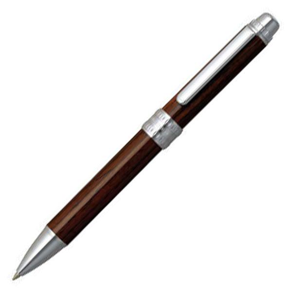 【お取り寄せ】プラチナ萬年筆(PLATINUM) DOUBLE 3 ACTION ウォールナット <2色ボールペン+シャープペンシル> #58 ウォールナット MWB-5000CW 多機能ペン 2727580