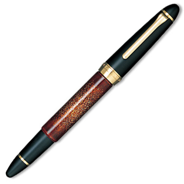 【お取り寄せ】セーラー(SAILOR) 功修漆芸 平目ため塗り 長刀研ぎ 万年筆