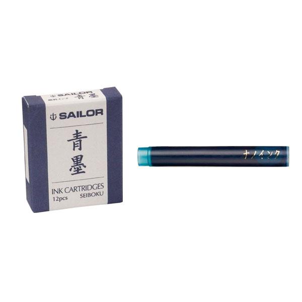 【お取り寄せ】セーラー(SAILOR) カートリッジインク 青墨