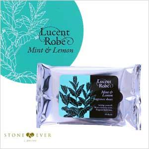 【生活の木】Lucent Robe(ルーセントローブ)『フレグランスシート 10枚入◆ミント&レモン◆』[03-220-1040]