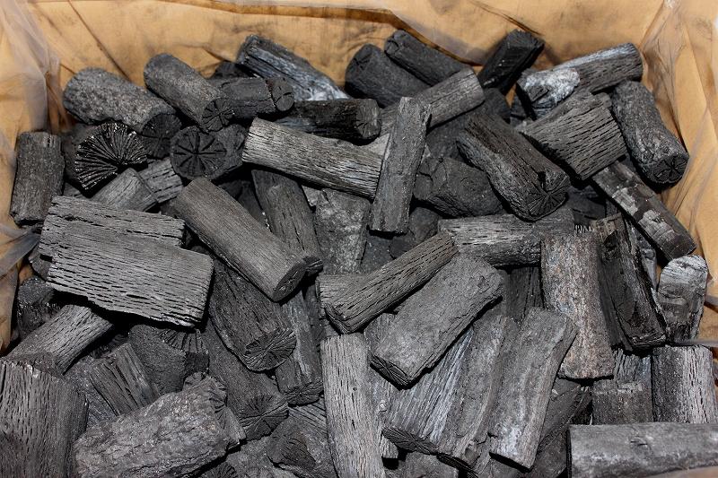 京・茶の湯炭の里 くぬぎ切炭(一級)5kg入り