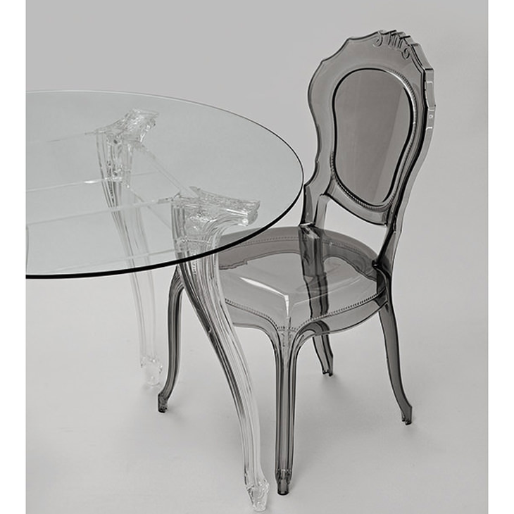 Epoque Chair - Fumé / アクリリック チェア|Dal Segno Design : イタリア|IB Selection|CAI0004DSD