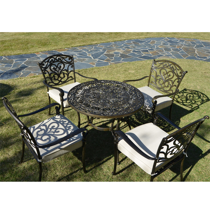 Garden Furniture / Garden Round Table and Chair Sets / ガーデンテーブルセット - 円形 |IBERIA : 別注|HGE0002