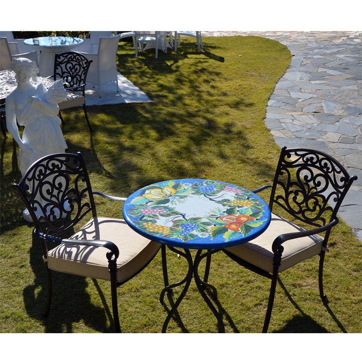 Garden Furniture / Garden Round Table and Chair Sets / ガーデンテーブルセット - 円形 |IBERIA : 別注|HGE0005