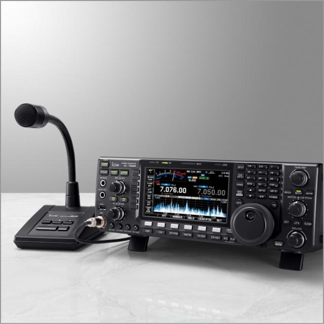 IC-7600+SM-50